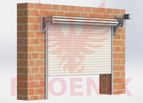 Противопожарные рулонные ворота FireRollGate EI60